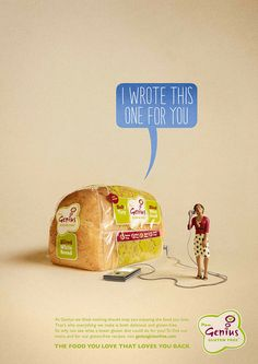Genius Gluten Free by Aled Lewis, via Behance Bbc Good Food Recipes, Snack Recipes, Snacks, No Gluten Diet, Gluten Free, White Bread, Are You The One, How To Find Out, Chips