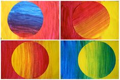 Primary Colour Gradients- Grade 5/6
