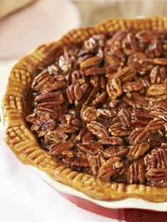 Love this Pecan Pie recipe from Jill Bauer! What's your favorite Thanksgiving pie? #QVCholiday
