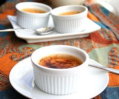 Chai Tea Creme Brulee (Low Carb and Gluten Free)
