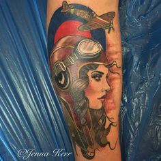 Search: Aviator Tattoo (Catch Me If You Can; Forger, Counterfeiter, & Manic Delusional Con-man)