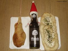 Veganes vom Esslinger Weihnachtsmarkt (v.l.n.r): Stockbrot - Fritz Kola - Deie  #vegan #kola # fritz