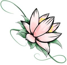 Best health benefits and uses of the lotus flower. The lotus flower is one of the most beautiful blossoms in the world. Pink Lotus Tattoo, Small Lotus Tattoo, Lotus Flower Tattoo Design, Sunflower Tattoo Small, Small Flower Tattoos, Simple Lotus Flower Tattoo, Plumeria Tattoo, Flower Drawing Tumblr, Lotus Drawing