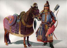 Mongol Heavy Cavalry Elite Warrior