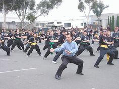 Choy Li Fut: This form employs both hand to hand combat and the use of traditional Chinese weapons. This style has practical forms of fighting, and was developed during the period of war.  This form uses the circular movement of the arms for both defense and attacking.