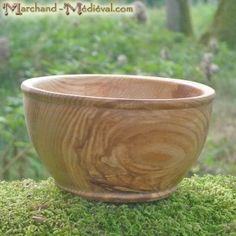 Bol médiéval en bois de frêne