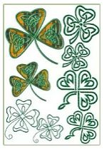 Free Embroidery Designs: Lucky Shamrocks - I Sew Free