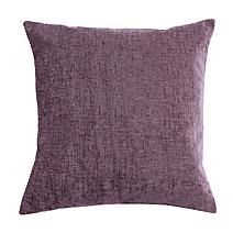 Finished in rich mauve tones this large chenille cushion features a square shaped design and comes filled with a plump polyester hollowfibre insert and a removable cover. Purple Throw Pillows, Scatter Cushions, H & M Home, Cushion Filling, Purple Aesthetic, Shape Design, Soft Furnishings, Cushion Covers
