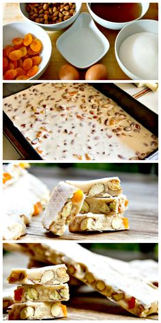 Sweet, chewy, nutty and crunchy, it doesn't get much better than this #Apricot #AlmondNougat