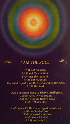 Signs of ascending consciousness and higher frequency awareness...  I am not this body. Name has been given to the body which is mortal. I am eternal and Immortal Soul I try to be Peaceful, Blissful I am Love and Light and I am a soul. Be Yourself ~ Truthfully Accept Yourself ~ Gracefully Value Yourself ~ Joyfully