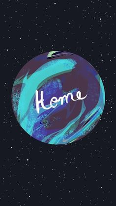 Earth is Home | | iPhone 6 Wallpaper