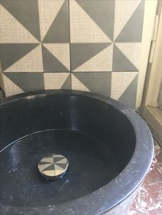 Tiles and stime washbasin