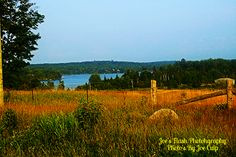 Picturesque summer Scene off Highway 518 near orrville Ontario looking Towards maple Lake
