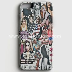 Lana Del Rey And Lady Gaga American Flag iPhone 6 Plus/6S Plus Case | casefantasy