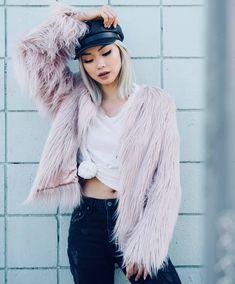Buy Unreal Fur - Unreal Dream Jacket from Fix Fashion Rebecca Judd, Worlds Of Fun, Wardrobe Staples, Fashion Forward, Faux Fur, Fur Coat, Tees, Pink, Jackets