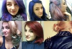 Kool-Aid Hair Dye: How to Color Your Hair Cheaply and Effectively: YES, i want red or blue or purple.