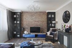 Нейтральная цветовая палитра, классическая мебель и эффектные акценты в стиле…
