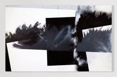 Pippo Lionni, GRAYMATTERS 40, 2010, acrylic on canvas, diptych, 100x160cm