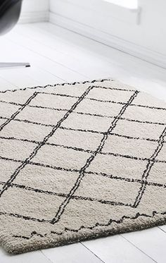 Marrokansk inspireret tæppe