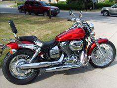 Annette's Bike - 2003 Honda Shadow Spirit 750 (minus the back rest!).