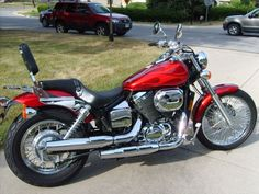 Annette's Bike - 2003 Honda Shadow Spirit 750 (minus the back rest!).