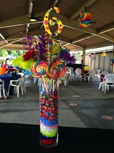 Quinceanera Party Planning – 5 Secrets For Having The Best Mexican Birthday Party Candy Centerpieces, Candy Decorations, Bat Mitzvah, Candy Land Theme, Party Fiesta, Troll Party, Candy Party, Unicorn Party, 1st Birthday Parties
