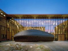 Forest Research Center is Built, Logically, of Wood