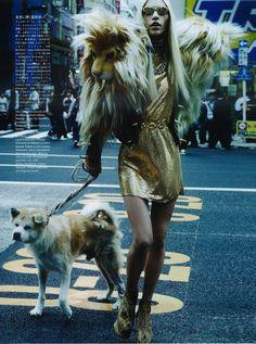 Aline Weber - Vogue Nippon April 2012