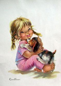 illustrations vintages mignonnes de c - Page 24