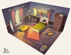 """Consulta este proyecto @Behance: """"Animation and Game Backgrounds"""" https://www.behance.net/gallery/29218353/Animation-and-Game-Backgrounds"""