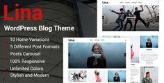 Lina - Responsive #WordPress Blog Theme - Personal Blog / Magazine Download here:  https://themeforest.net/item/lina-responsive-wordpress-blog-theme/19966208?ref=classicdesignp