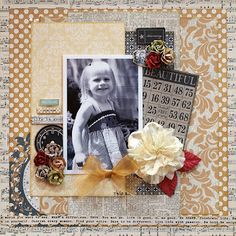 My Creative Scrapbook October Main Kit Reveal   Giveaway Alert My Mind's Eye The Sweetest Thing as well as from Basic Grey Clippings