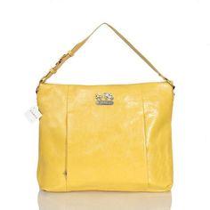 coach coin purse outlet 14iu  Coach Phoebe Large Yellow Shoulder Bags ASC