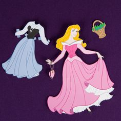 Dress her however you like, and this Aurora paper doll will make the perfect royal companion for any occasion!