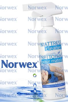 Norwex #Mattress Cleaner (www.norwex.com)  A unique enzyme based formula designed to remove organic material and provide a deep cleaning of body oils, pet dander and other contaminants from pillows, comforters, mattresses, bedding, fluffy toys, and fabric furniture. Lightly spritz monthly. Not for use on nonabsorbent plastic crib mattresses. Size: 350ml / 12 oz.