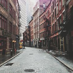 Stone st. Financial District – Photo by joshchang