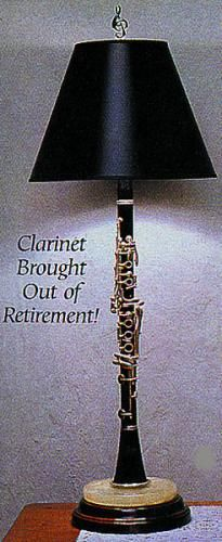 On The Bright Note; Our Clarinet Lamp Plays Beautifully As A Lighting ...