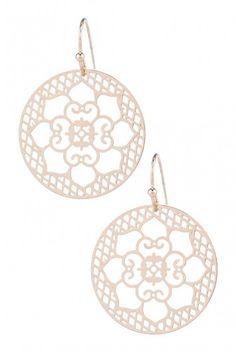 Type 1 Lotus Earrings - $10.97