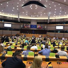 Grüße aus dem Europäischen Parlament in Brüssel. Aktuell treffen sich alle EUROPE DIRECT Infozentren dort. #EIZRostock #EDIC-MV #europe #brussels #europeanparlament #li