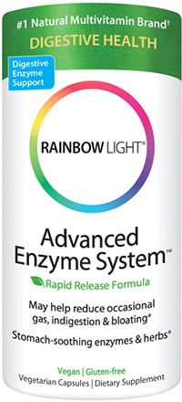 rainbow light advanced enzyme system soothing botanicals promote. Black Bedroom Furniture Sets. Home Design Ideas