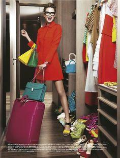 """""""Dress Code Colore!"""": Sophie by Massimo Ferrari for Grazia Italia"""