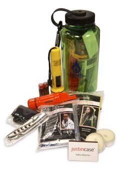 #Enter for a chance to #win a Winter Emergency Kit Prize Package which consist of a 32 oz. WaterSavers branded water bottle, Carabiner key chain, Medium flashlight, 2 heavy duty AA batteries, 19-piece first aid kit, Survival tool, Pocket knife, Emergency poncho, Emergency blanket, 2 tea light candles, Safety matches, Survival instruction card and Mesh sack.