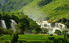 Ba Be Lake Tours in Vietnam great tours to visit Ba Be Lake and trekking tours in Ba Be National Park. Ba Be Lake Tours in Vietnam visit Ban Gioc Waterfall