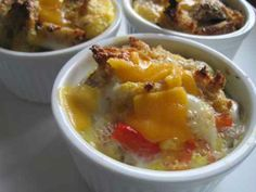 Breakfast - Egg Casserole Cups #freezer