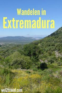 Wandelen in Extremadura: ik liep hier de Ruta de los Molinos, de mooiste route van het gebied. Een aanrader!