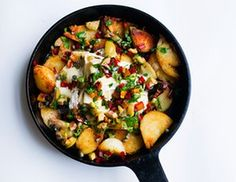 Nigel Slater's sautéed potatoes with olives, chard and cheese recipe   Life and style   The Guardian