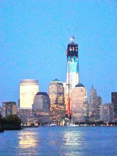 Lower Manhattan & New World Trade Center