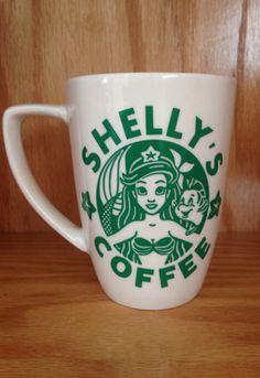 Personalized Little Mermaid mug