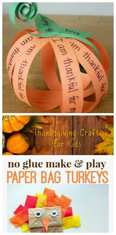 Thanksgiving Crafts for Kids featured on Having Fun Saving and Cooking. Thanksgiving Crafts for Kids featured on Having Fun Saving and Cooking. Thanksgiving Arts And Crafts, Easy Fall Crafts, Fall Crafts For Kids, Holiday Crafts, Kids Thanksgiving, Kids Crafts, Thanksgiving Decorations, Thanksgiving Activities For Kids, Spring Crafts