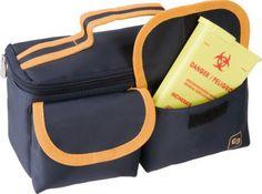 Elite Bags Labortasche Row's Handlich kleine, thermoisolierte Labortasche speziell zur Blutentnahme bei Hausbesuchen. Entspricht der Verpackungsanweisung ADR P650 als...